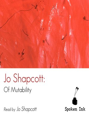 cover image of Of Mutability