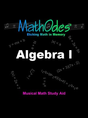 cover image of MathOdes Algebra 1