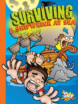 cover image of Surviving a Shipwreck at Sea