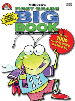 cover image of First Grade Big Book