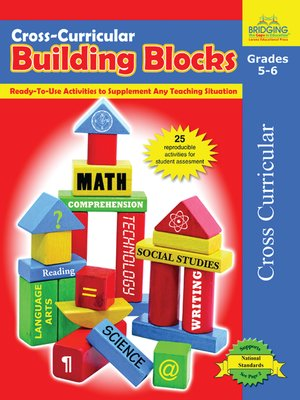 cover image of Cross-Curricular Building Blocks - Grades 5-6