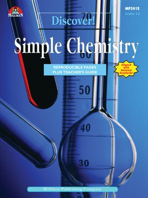 cover image of Discover! Simple Chemistry