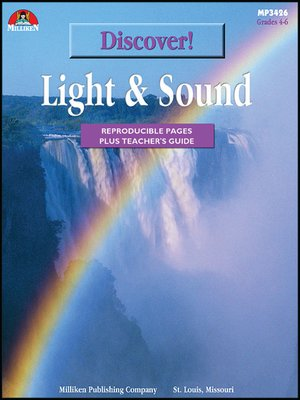 cover image of Discover! Light and Sound