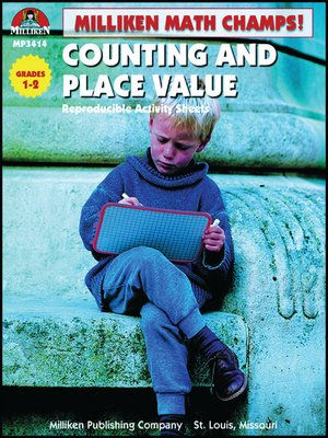 cover image of Math Champs! Counting and Place Value