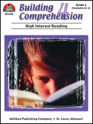 cover image of Building Comprehension - Grade 4