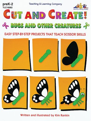 cover image of Cut and Create! Bugs and Other Creatures