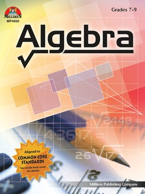 cover image of Algebra