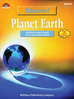 cover image of Discover! Planet Earth
