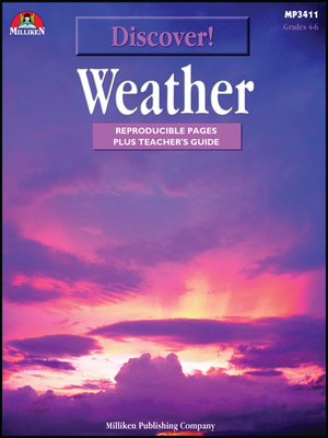 cover image of Discover! Weather