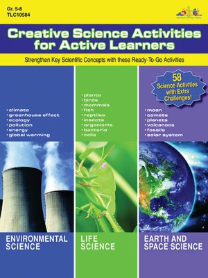 cover image of Creative Science Activities for Active Learners