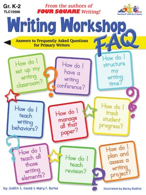 cover image of Writing Workshop FAQ