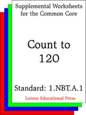 cover image of CCSS 1.NBT.A.1 Count to 120
