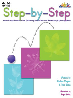 cover image of Step-by-Step - Grades 5-6