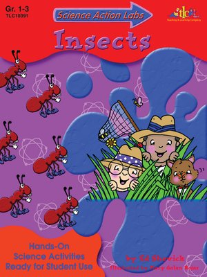 cover image of Science Action Labs Insects