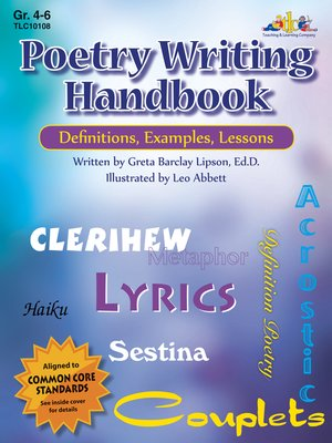 cover image of Poetry Writing Handbook