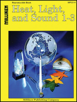 cover image of Heat, Light, and Sound