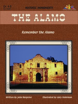 cover image of Alamo: Remember the Alamo