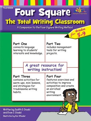 cover image of Four Square The Total Writing Classroom for Grades 5-9