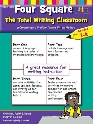 cover image of Four Square The Total Writing Classroom for Grades 1-4