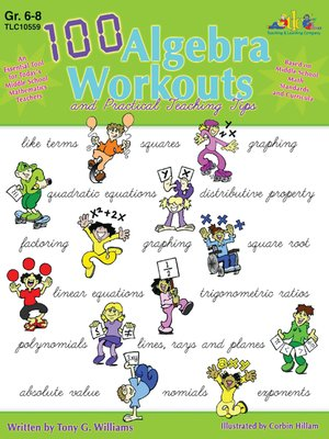 cover image of 100 Algebra Workouts