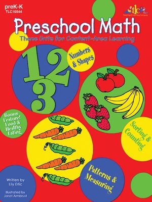 cover image of Preschool Math