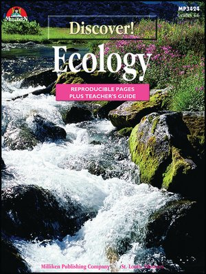 cover image of Discover! Ecology