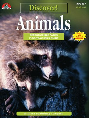 cover image of Discover! Animals
