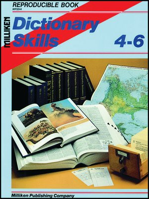 cover image of Dictionary Skills
