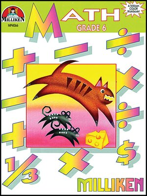 cover image of Math Workbook - Grade 6