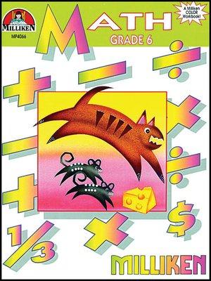 cover image of Math Workbook - Grade 6