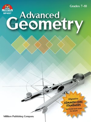 cover image of Advanced Geometry