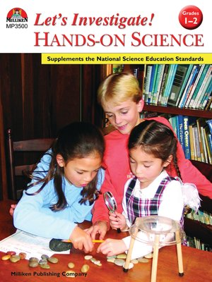 cover image of Let's Investigate! Hands-On Science - Grades 1-2
