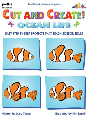 cover image of Cut and Create! Ocean Life