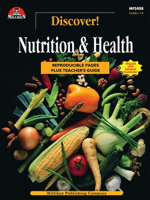 cover image of Discover! Nutrition and Health