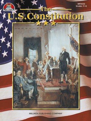 cover image of U.S. Constitution