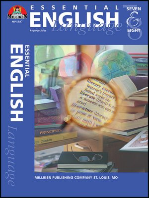 cover image of Essential English - Grades 7-8