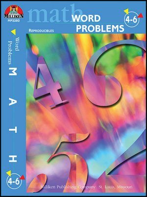 cover image of Word Problems Gr 4-6