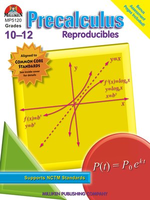 cover image of Precalculus Reproducibles