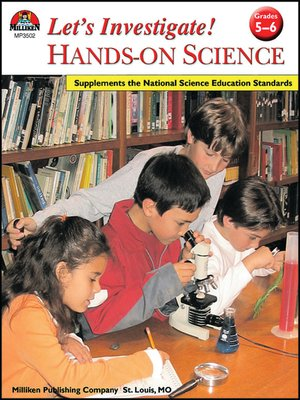 cover image of Let's Investigate! Hands-On Science - Grades 5-6