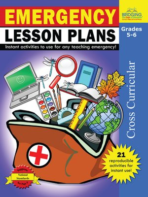 cover image of Emergency Lesson Plans - Grades 5-6