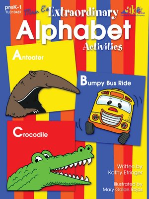 cover image of Mrs. E's Extraordinary Alphabet Activities