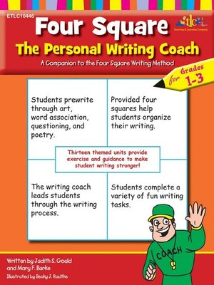 cover image of Four Square The Personal Writing Coach for Grades 1-3