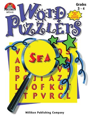 cover image of Word Puzzlers - Grades 3-4