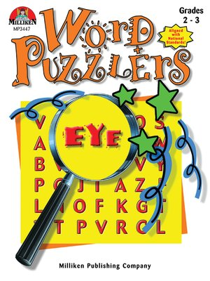 cover image of Word Puzzlers - Grades 2-3