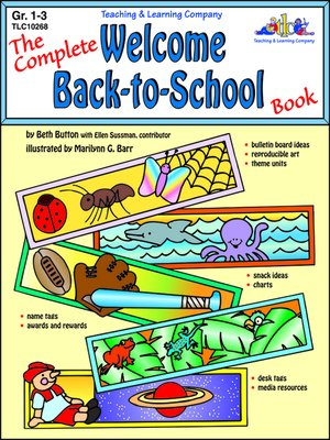 cover image of Complete Welcome Back-to-School Book