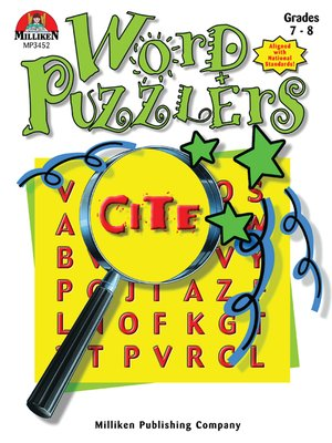 cover image of Word Puzzlers - Grades 7-8