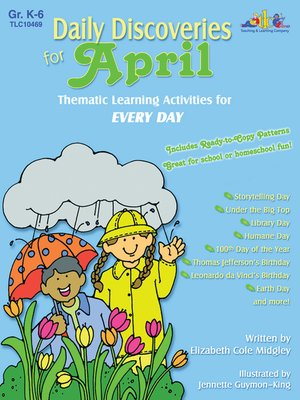 cover image of Daily Discoveries for APRIL