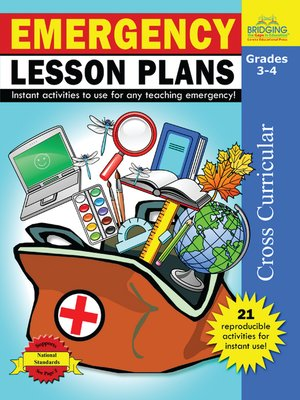 cover image of Emergency Lesson Plans - Grades 3-4
