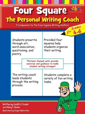 cover image of Four Square The Personal Writing Coach for Grades 4-6