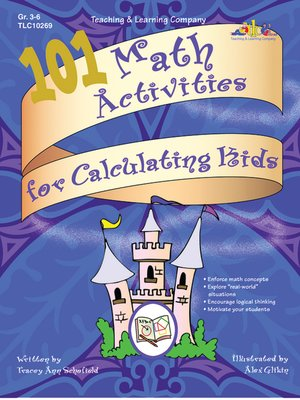 cover image of 101 Math Activities for Calculating Kids